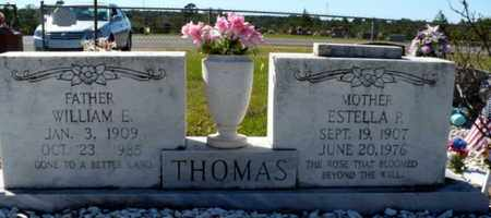 PAGE THOMAS, ESTELLA - Red River County, Louisiana | ESTELLA PAGE THOMAS - Louisiana Gravestone Photos