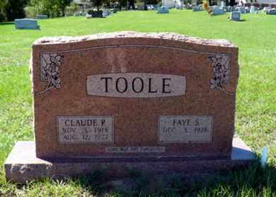 TOOLE, CLAUDE P - Red River County, Louisiana | CLAUDE P TOOLE - Louisiana Gravestone Photos