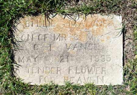 VANCE, BILLIE MALONE - Red River County, Louisiana | BILLIE MALONE VANCE - Louisiana Gravestone Photos