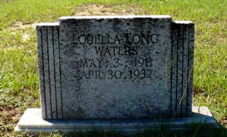 LONG WATERS, LOUELLA - Red River County, Louisiana | LOUELLA LONG WATERS - Louisiana Gravestone Photos