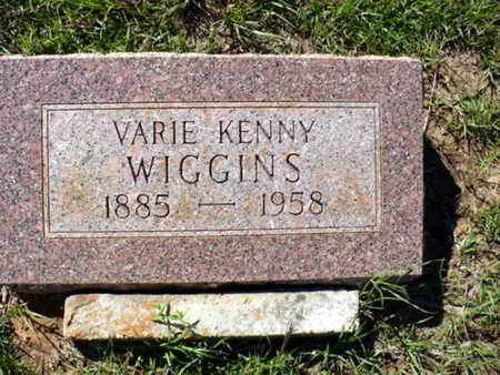 WIGGINS, VARIE KENNY - Red River County, Louisiana | VARIE KENNY WIGGINS - Louisiana Gravestone Photos