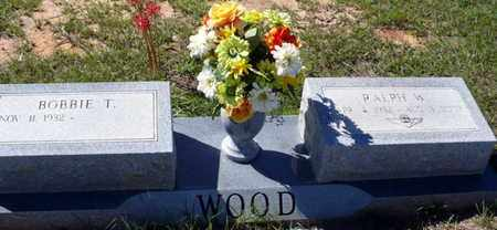 WOOD, RALPH W - Red River County, Louisiana   RALPH W WOOD - Louisiana Gravestone Photos