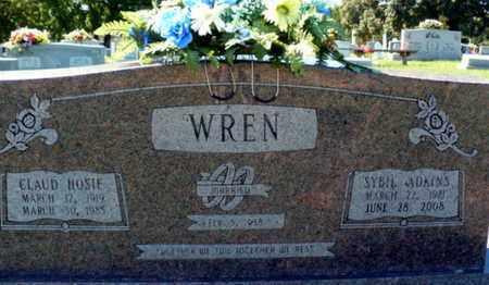 WREN, SYBIL D - Red River County, Louisiana | SYBIL D WREN - Louisiana Gravestone Photos