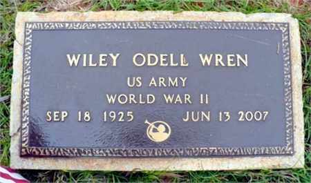 WREN, WILEY ODELL (VETERAN WWII) - Red River County, Louisiana | WILEY ODELL (VETERAN WWII) WREN - Louisiana Gravestone Photos