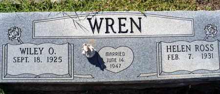 WREN, HELEN BLANCHE - Red River County, Louisiana | HELEN BLANCHE WREN - Louisiana Gravestone Photos
