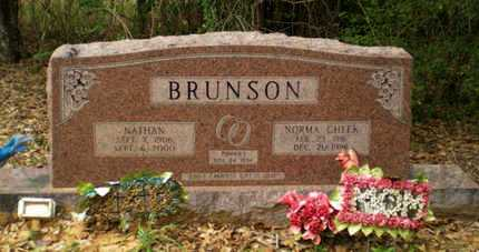 BRUNSON, NATHAN - Richland County, Louisiana | NATHAN BRUNSON - Louisiana Gravestone Photos