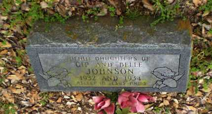 JOHNSON, INFANT DAUGHTER - Richland County, Louisiana   INFANT DAUGHTER JOHNSON - Louisiana Gravestone Photos