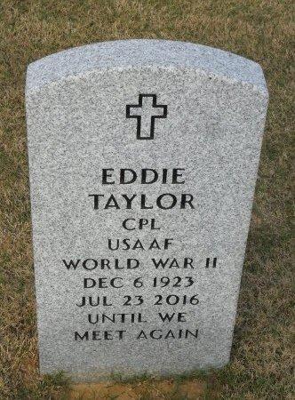 TAYLOR  , EDDIE (VETERAN WWII) - Richland County, Louisiana | EDDIE (VETERAN WWII) TAYLOR   - Louisiana Gravestone Photos