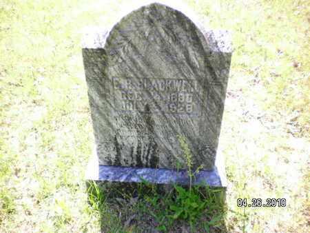 BLACKWELL, E B - Sabine County, Louisiana | E B BLACKWELL - Louisiana Gravestone Photos