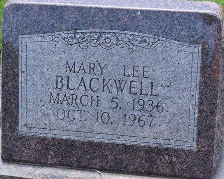 BLACKWELL, MARY LEE - Sabine County, Louisiana | MARY LEE BLACKWELL - Louisiana Gravestone Photos