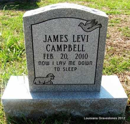 CAMPBELL, JAMES LEVI - Sabine County, Louisiana | JAMES LEVI CAMPBELL - Louisiana Gravestone Photos