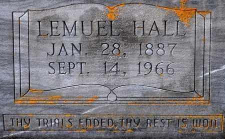 HORTON, LEMUEL HALL (CLOSEUP) - Sabine County, Louisiana | LEMUEL HALL (CLOSEUP) HORTON - Louisiana Gravestone Photos