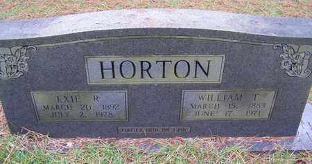HORTON, NANCY EXIE - Sabine County, Louisiana | NANCY EXIE HORTON - Louisiana Gravestone Photos