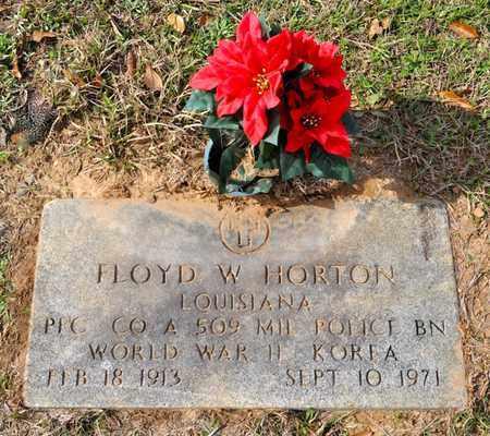 HORTON, FLOYD W (VETERAN 2 WARS) - Sabine County, Louisiana | FLOYD W (VETERAN 2 WARS) HORTON - Louisiana Gravestone Photos