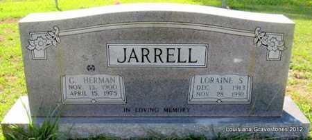 JARRELL, GEORGE HERMAN - Sabine County, Louisiana | GEORGE HERMAN JARRELL - Louisiana Gravestone Photos