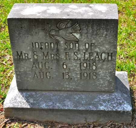 LEACH, INFANT SON - Sabine County, Louisiana | INFANT SON LEACH - Louisiana Gravestone Photos