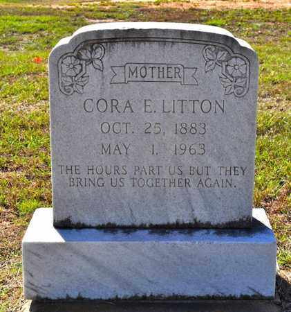 LITTON, CORA E - Sabine County, Louisiana | CORA E LITTON - Louisiana Gravestone Photos