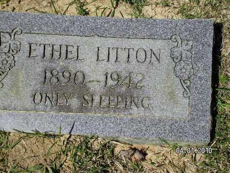 LITTON, ETHEL - Sabine County, Louisiana | ETHEL LITTON - Louisiana Gravestone Photos