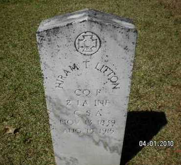 LITTON, HIRAM T (VETERAN CSA) - Sabine County, Louisiana | HIRAM T (VETERAN CSA) LITTON - Louisiana Gravestone Photos