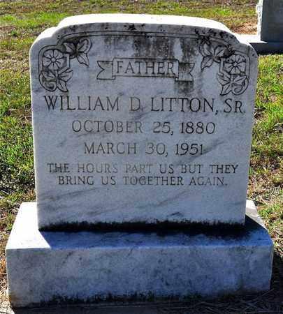 LITTON, WILLIAM D, SR - Sabine County, Louisiana | WILLIAM D, SR LITTON - Louisiana Gravestone Photos