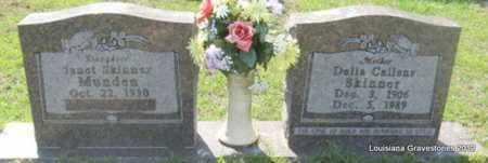 SKINNER, DELLA ESTELLA - Sabine County, Louisiana   DELLA ESTELLA SKINNER - Louisiana Gravestone Photos