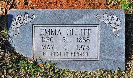 OLLIFF, EMMA - Sabine County, Louisiana | EMMA OLLIFF - Louisiana Gravestone Photos