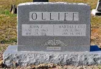 OLLIFF, JOHN Z - Sabine County, Louisiana | JOHN Z OLLIFF - Louisiana Gravestone Photos