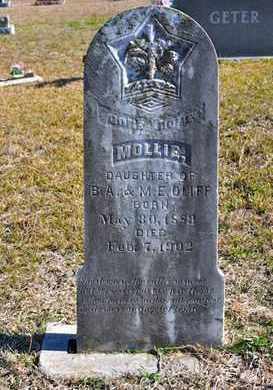 OLLIFF, MOLLIE - Sabine County, Louisiana | MOLLIE OLLIFF - Louisiana Gravestone Photos