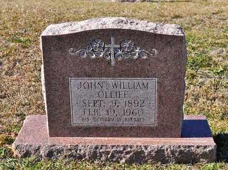 OLLIFF, JOHN WILLIAM - Sabine County, Louisiana | JOHN WILLIAM OLLIFF - Louisiana Gravestone Photos
