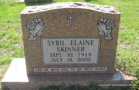 SKINNER, SYBIL ELAINE - Sabine County, Louisiana | SYBIL ELAINE SKINNER - Louisiana Gravestone Photos