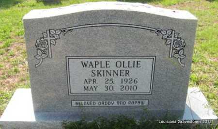 SKINNER, WAPLE OLLIE - Sabine County, Louisiana | WAPLE OLLIE SKINNER - Louisiana Gravestone Photos