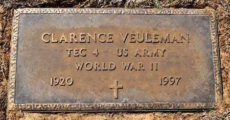 VEULEMAN, CLARENCE (VETERAN WWII) - Sabine County, Louisiana   CLARENCE (VETERAN WWII) VEULEMAN - Louisiana Gravestone Photos