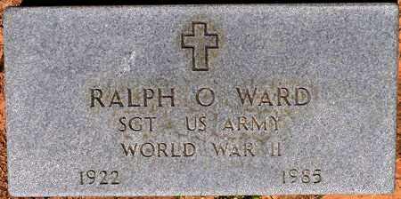 WARD, RALPH O (VETERAN WWII) - Sabine County, Louisiana   RALPH O (VETERAN WWII) WARD - Louisiana Gravestone Photos