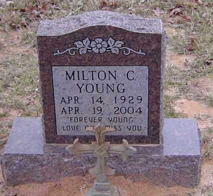 YOUNG, MILTON C - Sabine County, Louisiana | MILTON C YOUNG - Louisiana Gravestone Photos