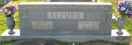 FRAZIER ALFORD, NANNIE LEA - St. Helena County, Louisiana | NANNIE LEA FRAZIER ALFORD - Louisiana Gravestone Photos