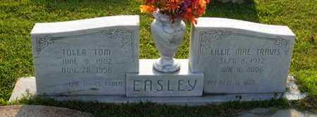 TRAVIS EASLEY, LILLIE MAE - St. Helena County, Louisiana | LILLIE MAE TRAVIS EASLEY - Louisiana Gravestone Photos