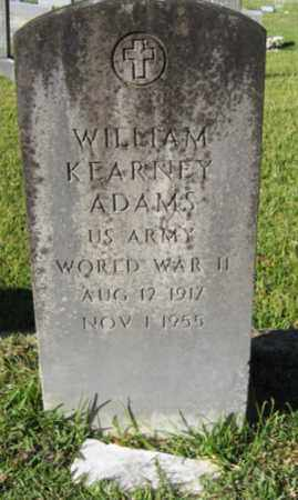 ADAMS, WILLIAM KEARNEY (VETERAN WWII) - St. Helena County, Louisiana | WILLIAM KEARNEY (VETERAN WWII) ADAMS - Louisiana Gravestone Photos