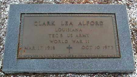 ALFORD, CLARK LEA (VETERAN WWII) - St. Helena County, Louisiana   CLARK LEA (VETERAN WWII) ALFORD - Louisiana Gravestone Photos