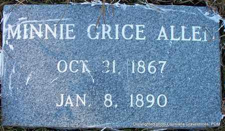 ALLEN, MINNIE - St. Helena County, Louisiana | MINNIE ALLEN - Louisiana Gravestone Photos
