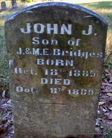 BRIDGES, JOHN J - St. Helena County, Louisiana | JOHN J BRIDGES - Louisiana Gravestone Photos