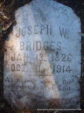 BRIDGES, JOSEPH W - St. Helena County, Louisiana | JOSEPH W BRIDGES - Louisiana Gravestone Photos