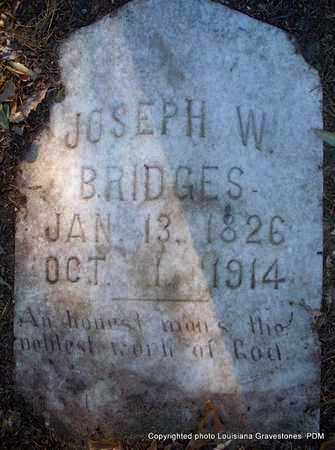 BRIDGES, JOSEPH W - St. Helena County, Louisiana | JOSEPH W BRIDGES - Louisiana Gravestone Photos
