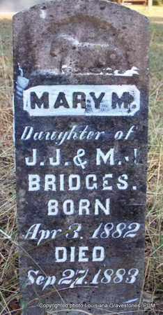 BRIDGES, MARY M - St. Helena County, Louisiana | MARY M BRIDGES - Louisiana Gravestone Photos