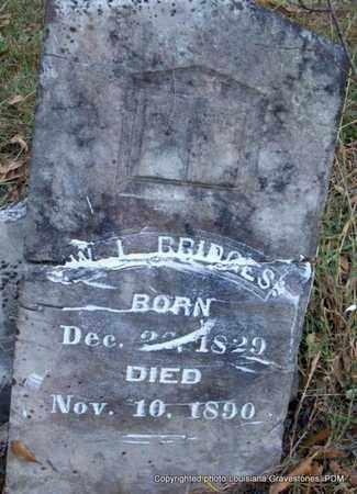BRIDGES, WILLIAM J  (VETERAN CSA) - St. Helena County, Louisiana | WILLIAM J  (VETERAN CSA) BRIDGES - Louisiana Gravestone Photos