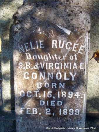 CONNOLY, NELIE RUCEE - St. Helena County, Louisiana | NELIE RUCEE CONNOLY - Louisiana Gravestone Photos