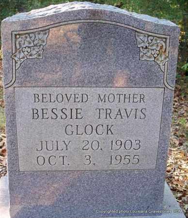 TRAVIS GLOCK, BESSIE - St. Helena County, Louisiana   BESSIE TRAVIS GLOCK - Louisiana Gravestone Photos