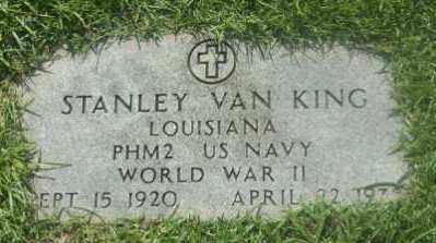 KING, STANLEY VAN (VETERAN WWII) - St. Helena County, Louisiana | STANLEY VAN (VETERAN WWII) KING - Louisiana Gravestone Photos