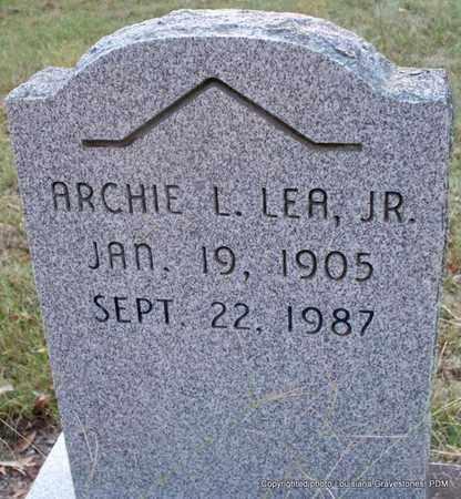LEA, ARCHIE L, JR - St. Helena County, Louisiana | ARCHIE L, JR LEA - Louisiana Gravestone Photos