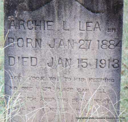 LEA, ARCHIE L, SR - St. Helena County, Louisiana | ARCHIE L, SR LEA - Louisiana Gravestone Photos
