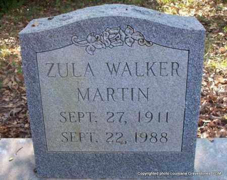 WALKER MARTIN, ZULA - St. Helena County, Louisiana | ZULA WALKER MARTIN - Louisiana Gravestone Photos